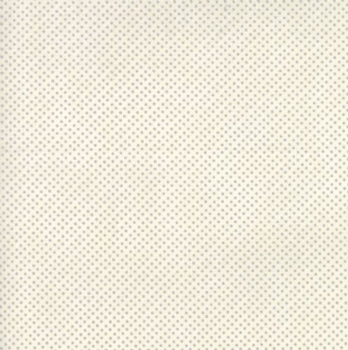 Moda - Essential Mini Dot - White Grey Fabric